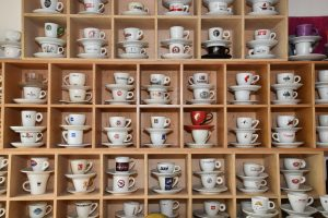 Espresso-Tassen-Sammlung, Ausschnitt I