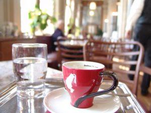 2007 in einem Wiener Kaffeehaus