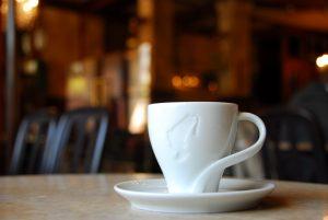 2008 im Cafe Europa Prag; mittlerweile von Meinl gekauft - es soll bis 2019 ein 5***** Hotel-Palast direkt am Wenzelsplatz werden