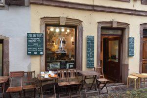 Leicht zu übersehen: Das Cafe Suspenders