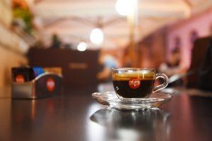 Cafe Espressee im rumänischen Hermannstadt (2016)